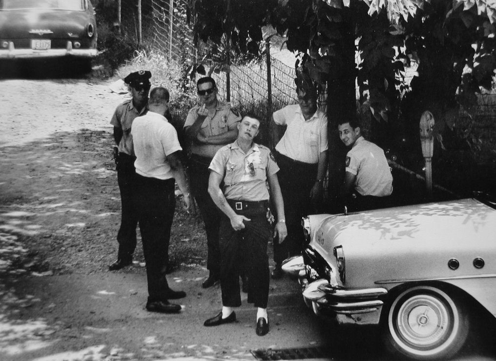Police in Clarksdale, Mississippi, 1963