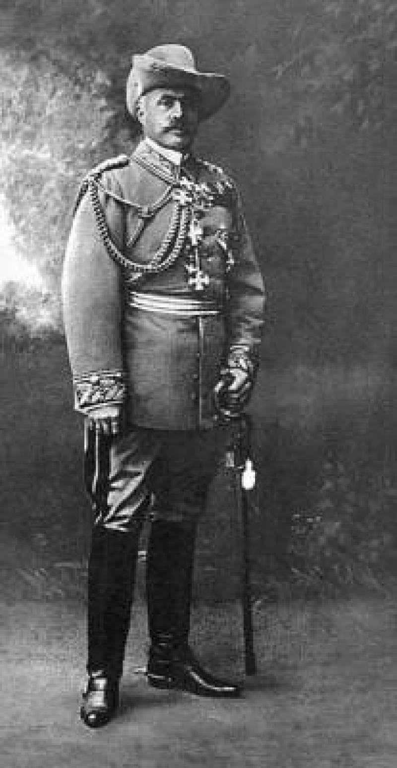 Lieutenant General Lothar von Trotha