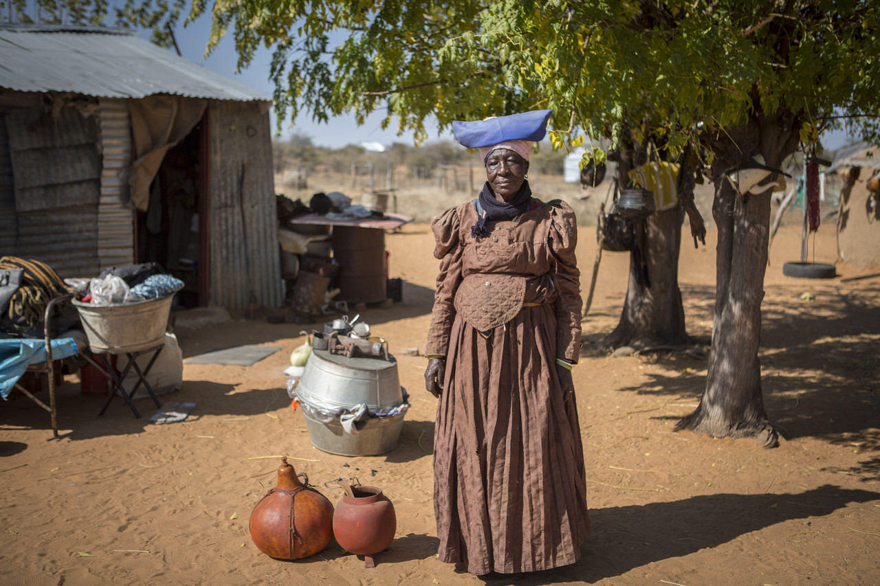 Woman of the Herero tribe