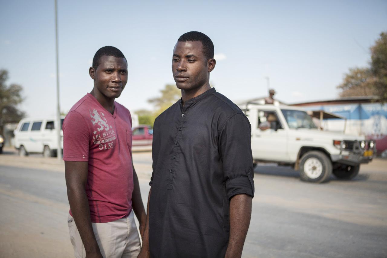 Brothers Ignatius and Lubinda Samulandela, who are from Okakarara, are descendants of Herero survivors.