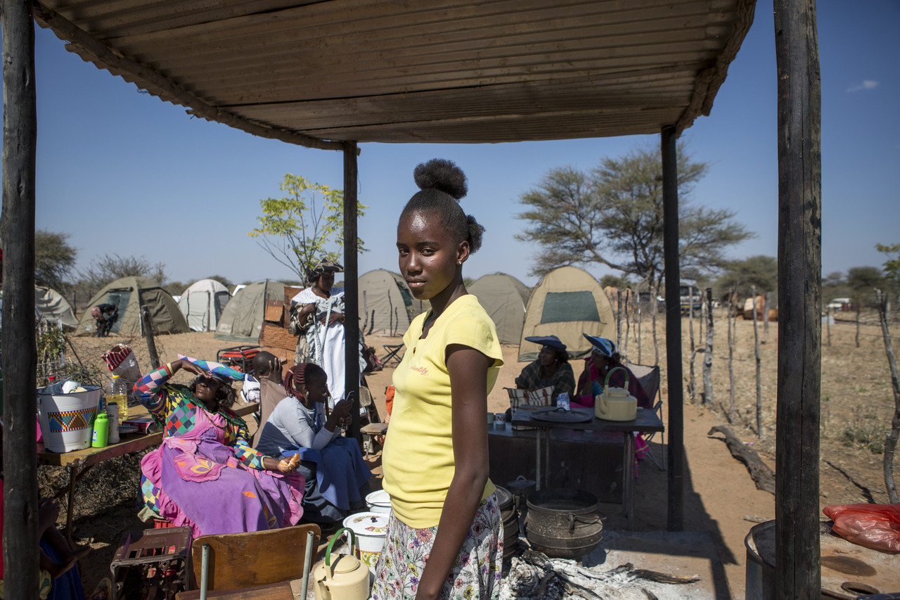 Mbitjita Harvarua, 14, lives in Okakarara and is a Herero descendant of survivors.