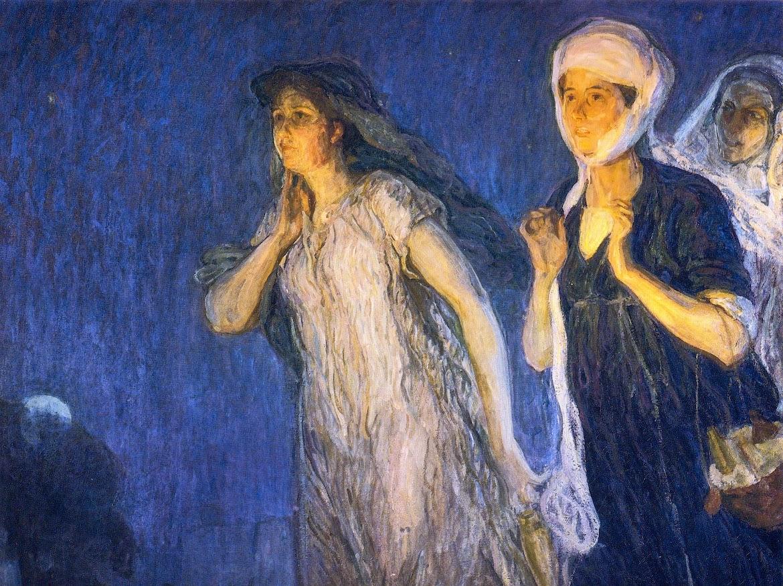The Three Marys, 1910