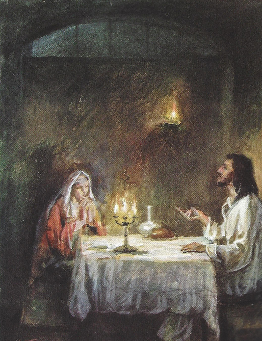 Jesus at the Home of Mary