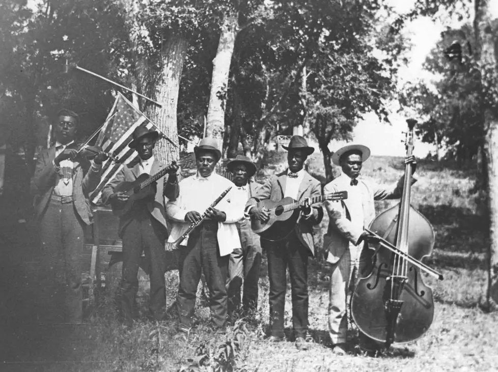 Emancipation Day Celebration band, June 19, 1900.