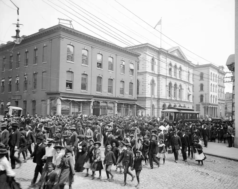 Juneteenth celebrations in Richmond, Virginia, ca. 1905